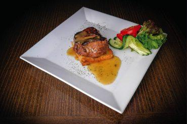 Marinovaný hovädzí steak