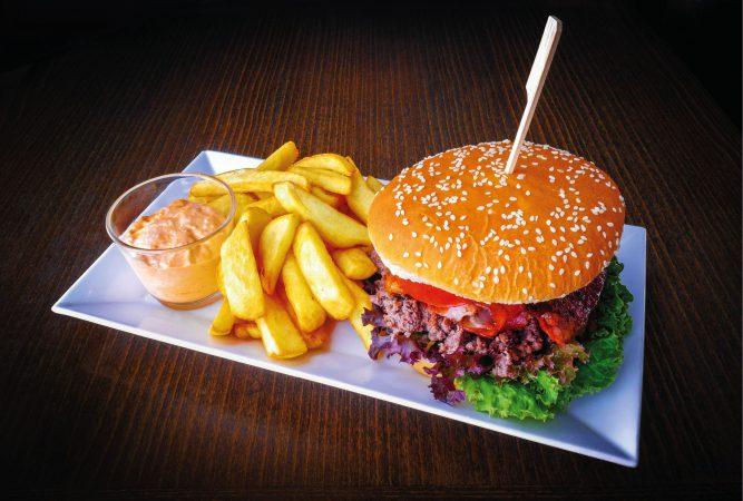 Sedliacky hamburger