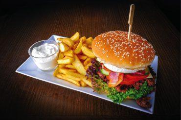 SK & HU hamburger